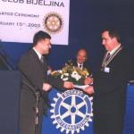 Gosp. Nebojša Ninić iz RC Banja Luka i gosp. Simić
