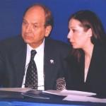 Anton Polsterer, guverner sa sadašnjim članom Aleksandrom Letić