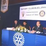 Prvi predsjednik Cvijetin Simić otvara ceromoniju