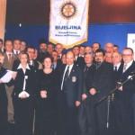Gosp. Anton Polsterer, D1910 guverner sa članovima RC Bijeljina